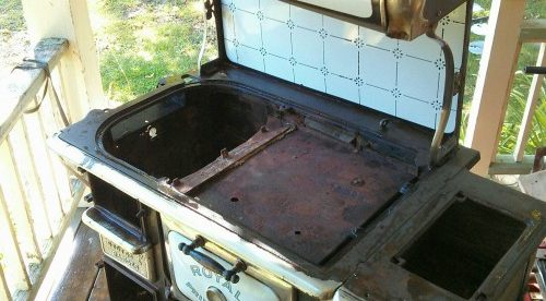 Princess Pat Antique Stove Refinishing