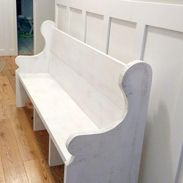 Pleasing Classic Church Pew Style Bench Caraccident5 Cool Chair Designs And Ideas Caraccident5Info