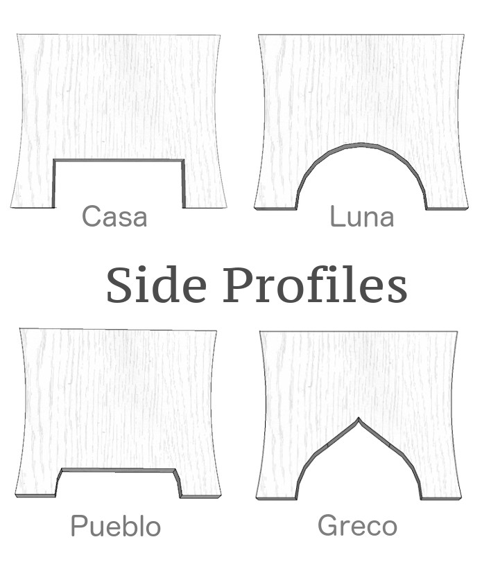 Church Pew Profile Choices