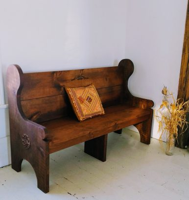 5-foot-Stained-Church-Pew-Style-Bench1